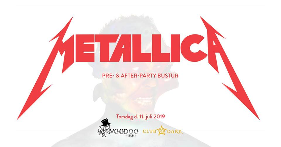 Metallica pre- and after-party
