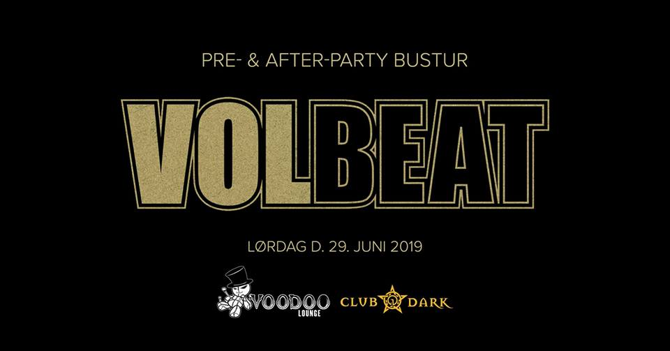 Volbeat pre- and after-party