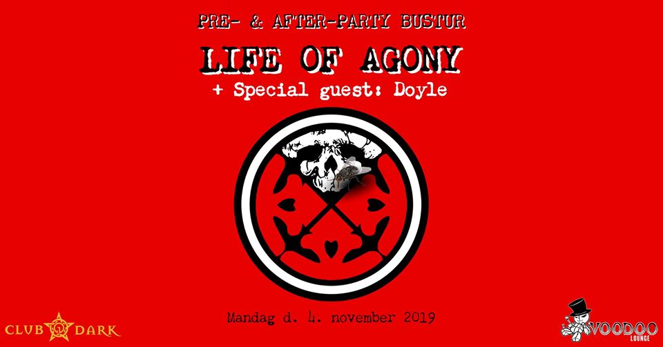 Life of Agony pre- & after-party bus trip