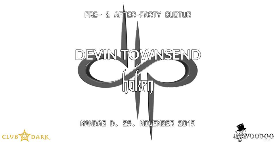 Devin Townsend pre- & after-party bus trip