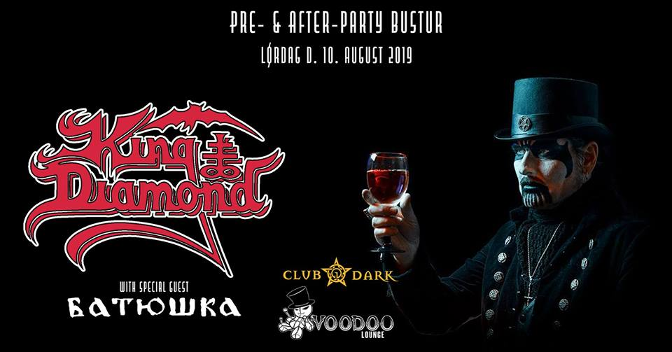 King Diamond pre- and after-party