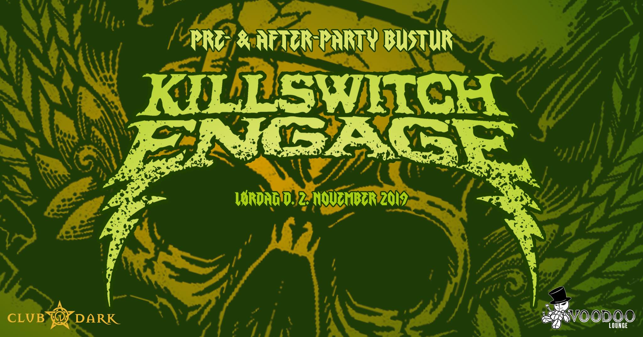Killswitch Engage pre- & after-party bus trip