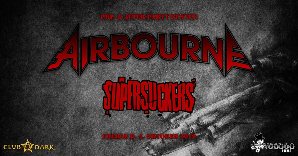 Airbourne pre- & after-party bus trip
