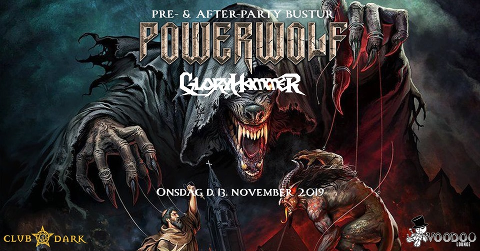 Powerwolf pre- & after-party bus trip