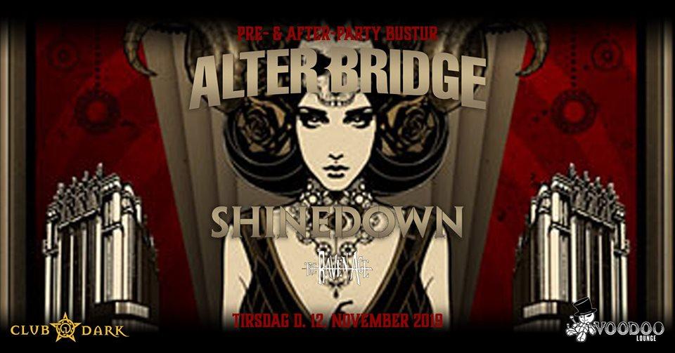 Alter Bridge pre- & after-party bus trip